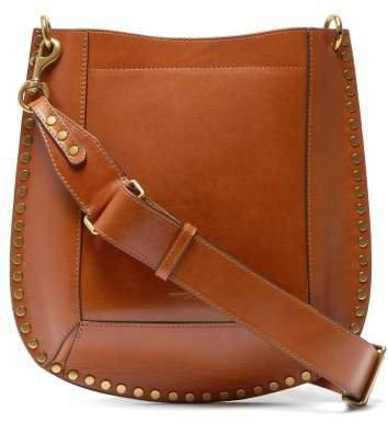 Oksan Studded Leather Cross Body Bag - Womens - Brown