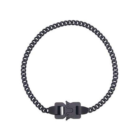 1017 ALYX 9SM CLASSIC CHAINLINK NECKLACE / BLK0001 : BLACK