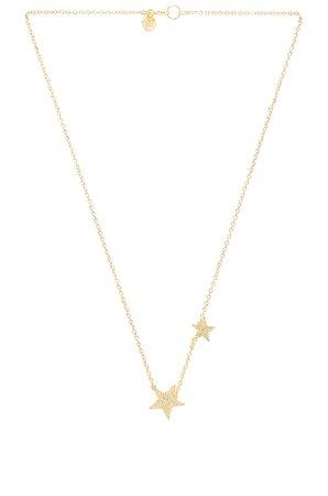gorjana Super Star Necklace in Gold | REVOLVE