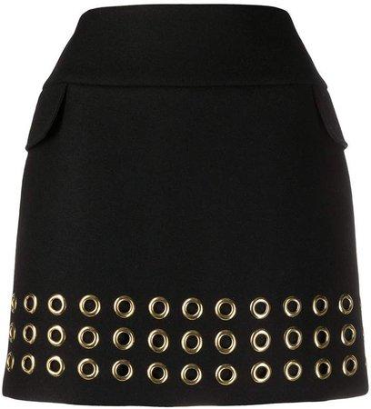 Elie eyelet detail skirt