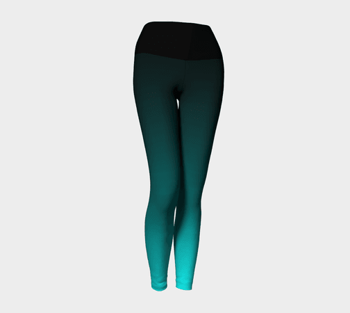 legging green teal and black - Google Search