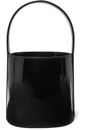 STAUD   Bissett patent-leather bucket bag   NET-A-PORTER.COM