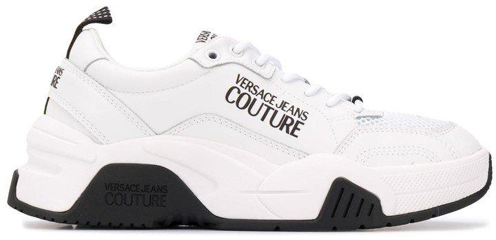 Logo-Print Low Top Sneakers