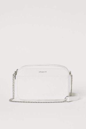 Small Shoulder Bag - White