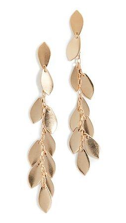 Isabel Marant Leaf Earrings | SHOPBOP