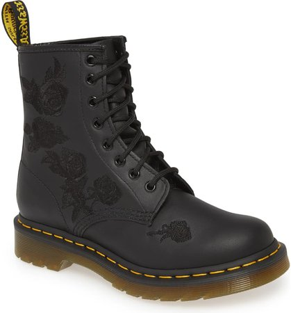 Dr. Martens 1460 Vonda Embroidered Bootie
