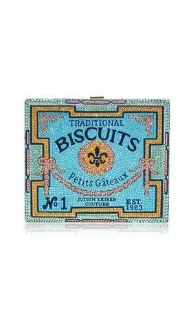 Petit Gateau Cigar Box Clutch By Judith Leiber Couture | Moda Operandi