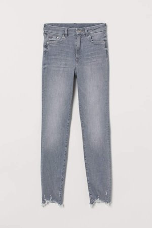Embrace High Ankle Jeans - Gray