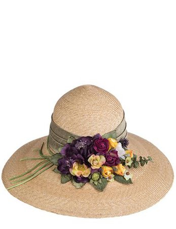 Carol Amper Lilac Bloom Hat