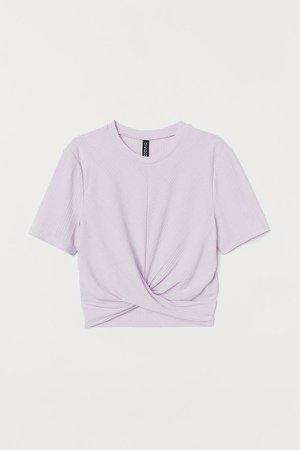 Short Top - Purple