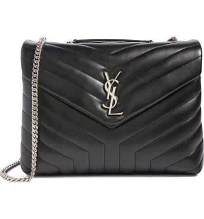 Saint Laurent Medium Loulou Calfskin Leather Shoulder Bag | Nordstrom