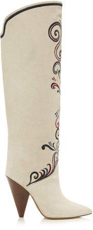Isabel Marant Lilary Velvet Boots