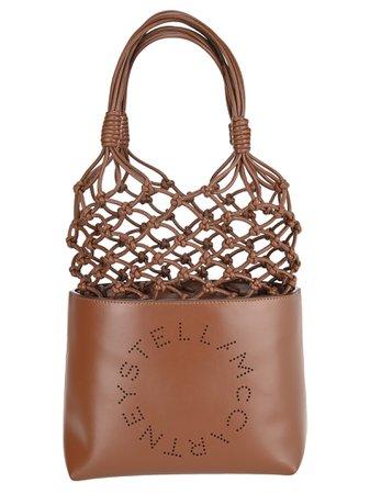 Stella McCartney Stella Mccartney Stella Logo Knotted Tote Bag