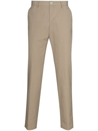 Shop BOSS Stanino tailored trousers with Express Delivery - Farfetch