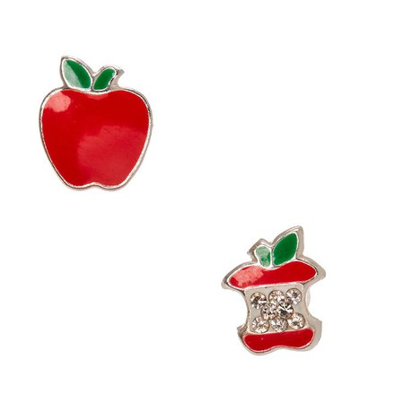 925 Sterling Silver Poison Apple Earrings | Icing US