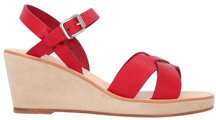 Judith wedge-heeled sandals