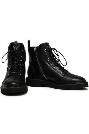 Black Chris leather ankle boots | Sale up to 70% off | THE OUTNET | GIUSEPPE ZANOTTI | THE OUTNET