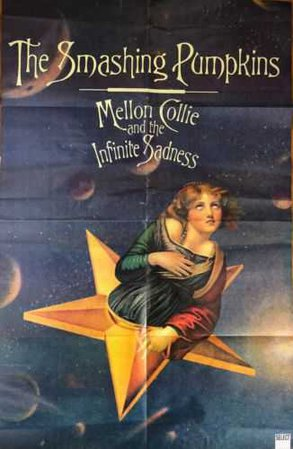 Smashing Pumpkins Mellon Collie and the Infinite Sadness pull-out poster Select | eBay