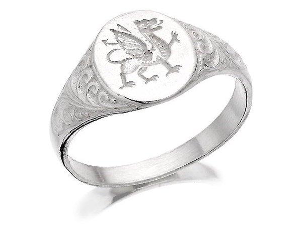 silver signet ring - Pesquisa Google