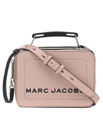 Marc Jacobs - The Box Small leather shoulder bag | Mytheresa