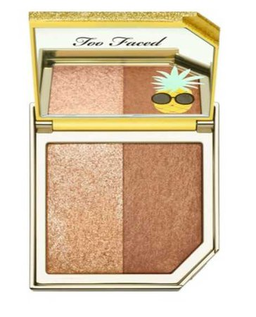 Too Faced Pineapple Bronzer and Hilighter Sephora