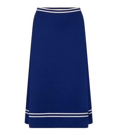 Wool Midi Skirt - Gucci | Mytheresa