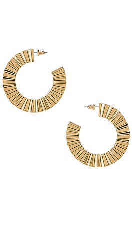 8 Other Reasons Ray Hoops in Gold | REVOLVE