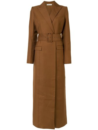Anna Quan Nora Longline Coat - Farfetch