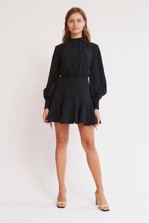 SOLEIL MINI DRESS Black