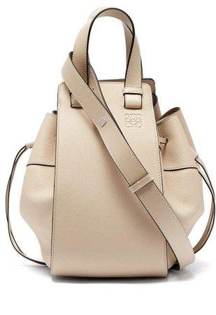 Hammock Medium Leather Tote Bag - Womens - Ivory