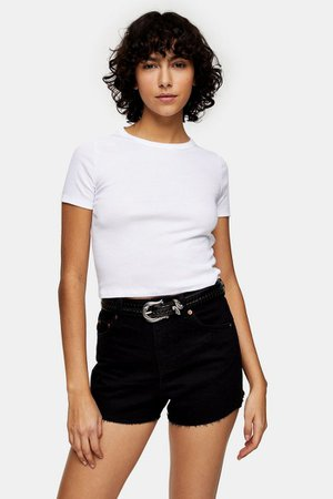 Everyday T-Shirt In White | Topshop
