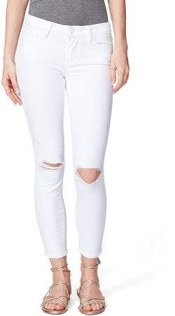 Verdugo Ripped Crop Skinny Jeans