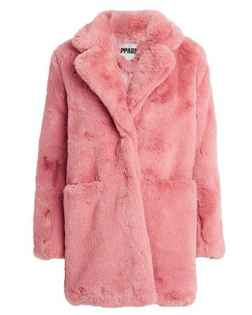 Sophie Faux Fur Coat