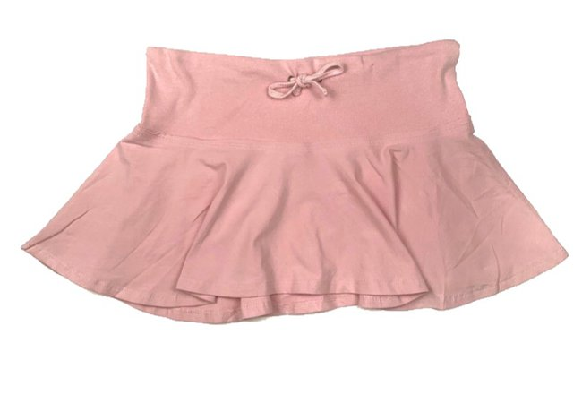 pastel pink y2k mini skirt
