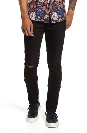 Topman Ripped Skinny Jeans | Nordstrom