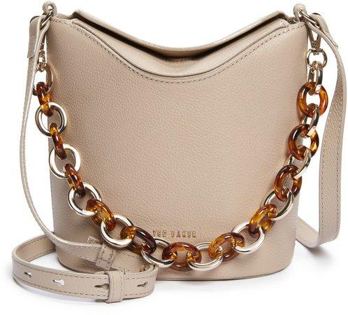 Brookk Leather Bucket Bag