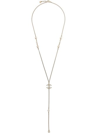 Chanel Pre-Owned Sautoir Chain Necklace - Farfetch
