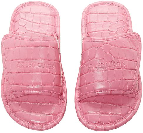 Home Sandals in Fuxia | FWRD