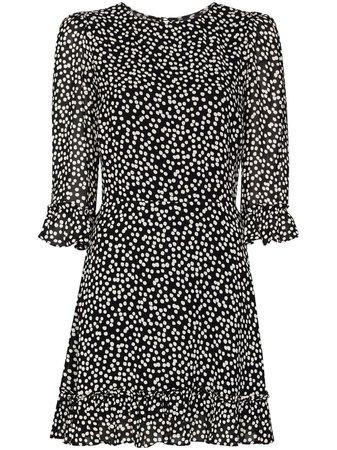 Reformation Doutzen polka-dot Mini Dress - Farfetch
