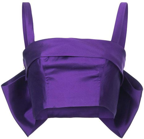 Bambah back bow bustier top
