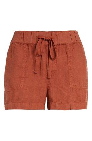 Caslon® Linen Shorts | Nordstrom