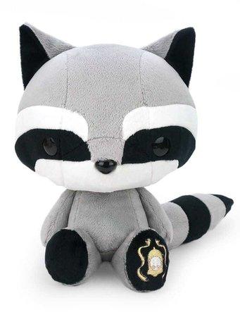 Bellzi® Black Raccoon Stuffed Animal Plush Toy - Cooni