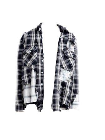 broken layer shirt from MIHARA YASUHIRO