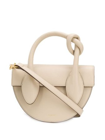 Yuzefi Dolores Knot Handle Tote Bag DOLORESDL02 Neutral | Farfetch