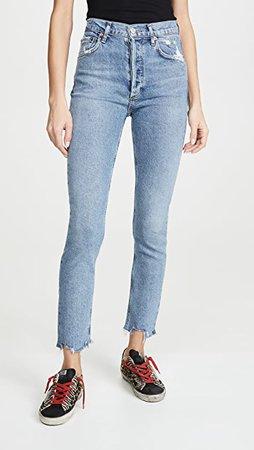 AGOLDE Nico High Rise Jeans   SHOPBOP