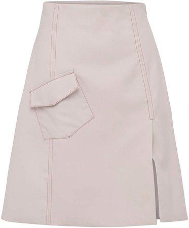 Anna Quan Kartia Crepe Mini Skirt