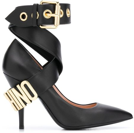 Buckled Ankle Strap Pumps