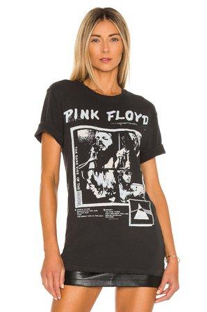 Junk Food Pink Floyd Dark Side Flyer Tee in Vintage Black & Reactive | REVOLVE