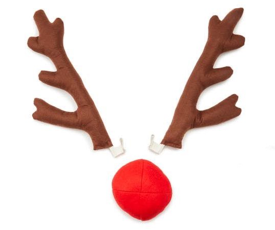 Dan Dee Rudolph the Red-Nosed Reindeer Antler & Nose