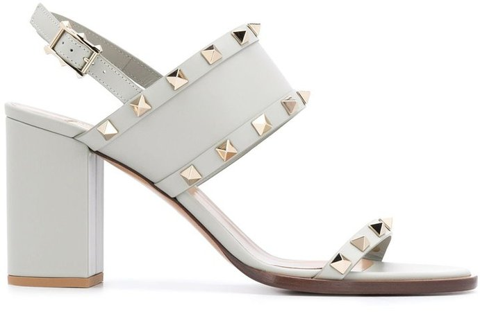 Rockstud open toe sandals